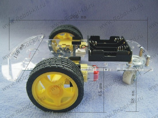 2WD Mobile Platform for Arduino SKU:ROB0005